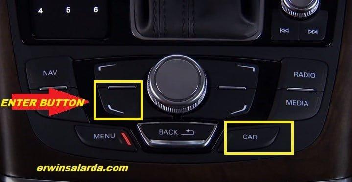Audi 2015-2018 Car BUTTON