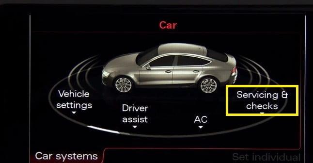 Audi Servicing and Checks