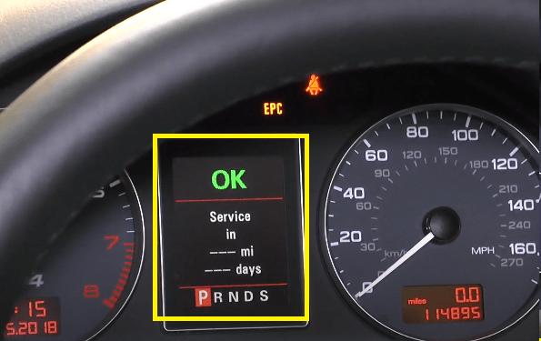 Audi service ok