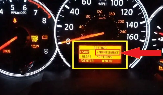 How To Reset Nissan Altima Maintenance Oil And Filter