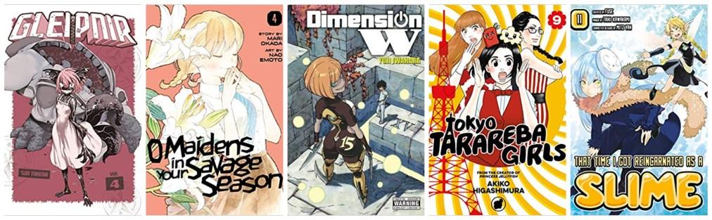English Translated Manga: October 18, 2019 New Releases