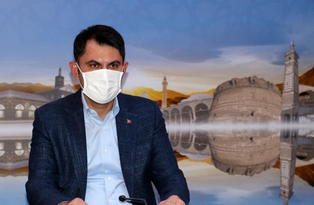 Bakan Kurum, Cumartesi günü Erzincan'da bir dizi incelemelerde bulunacak