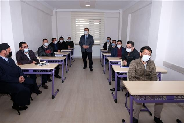 """""""Hafızlığı Muhafaza Eğitim Kursu"""" açıldı"""