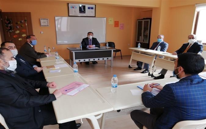 İlçe Müftüleri Aralık 2020 toplantısı Üzümlü'de gerçekleştirildi