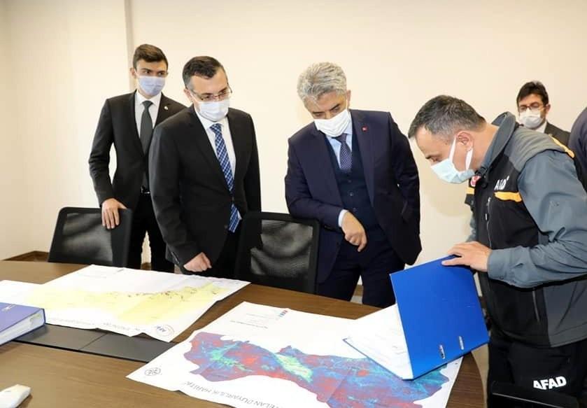 Erzincan İl Afet Risk Azaltma Planı Hazırlık Toplantısı düzenlendi