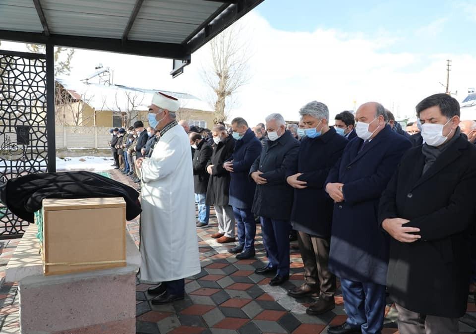 Milletvekili Çakır'ın vefat eden ağabeyi son yolculuğuna uğurlandı