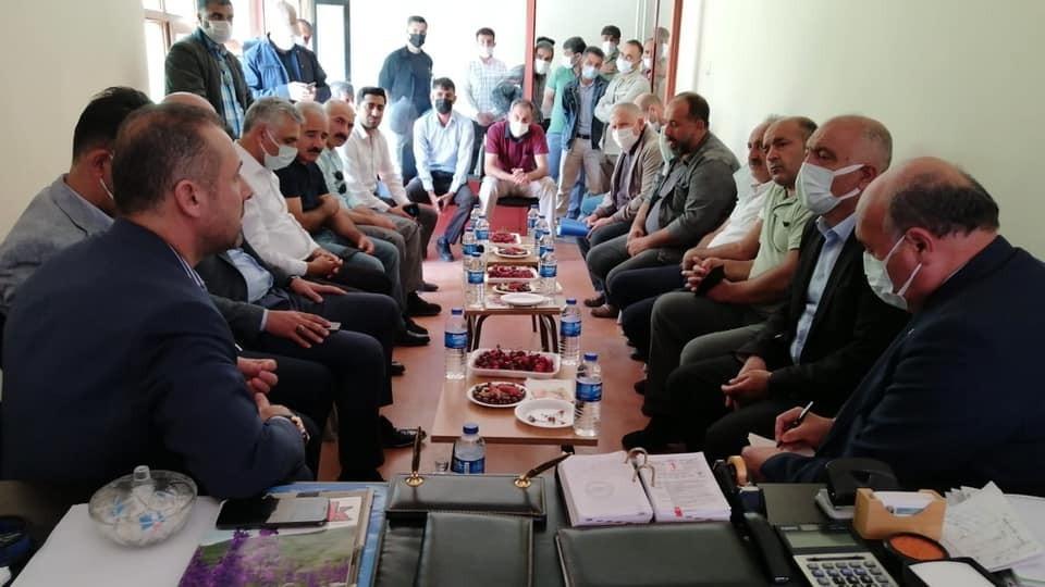 AK Parti Erzincan teşkilatından Şavak Aşireti'ne ziyaret