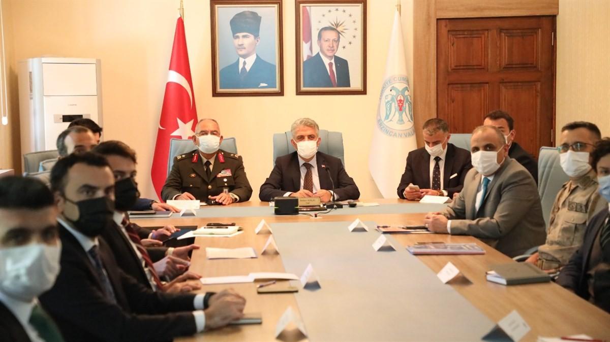 İl Güvenlik ve Asayiş Koordinasyon toplantısı ile Kaymakamlar toplantısı yapıldı