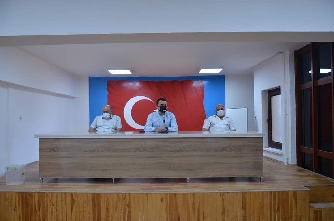 Tercan'da Köylere Hizmet Götürme Birliği toplantısı yapıldı