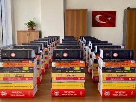 Erzincan Barosunca avukatlara dağıtılmak üzere 11 adet kitabın daha basımı gerçekleştirildi