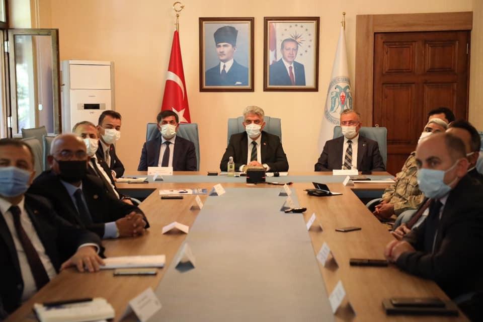 Erzincan'da İl Pandemi Kurulu toplantısı yapıldı