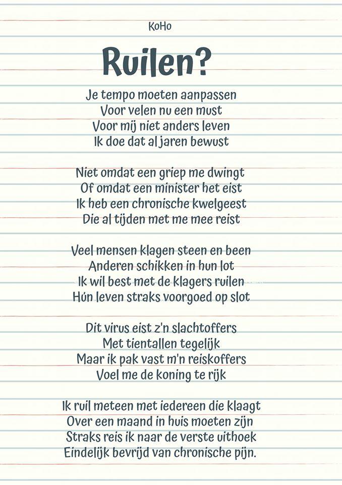 Gedicht_Koert_Zullen we ruilen, n.a.v. de corona crisis in 2020