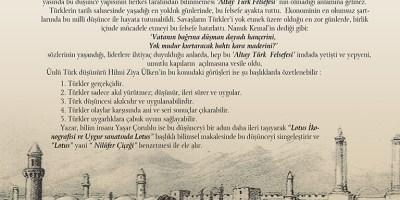 ALTAY FELSEFESİ  VE  23 TEMMUZ 1919 RUHU
