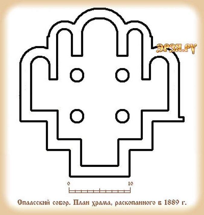 Спасский собор на городище Старая Рязань (Россия, Рязанская область)