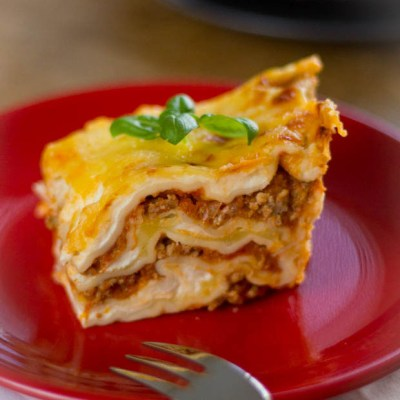 Recept homemade lasagne