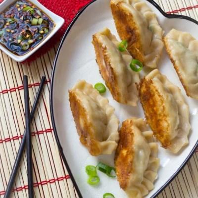 Gebakken Chinese dumplings zelf maken recept