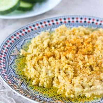 Hummus zelf maken recept