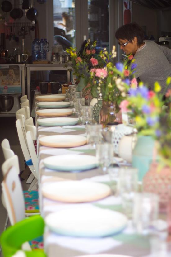Gedekte tafel Bredemeijer event