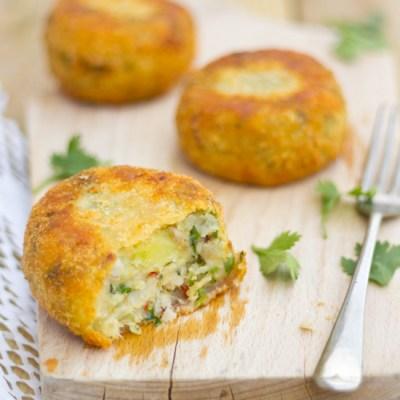 Recept vis aardappel koekjes