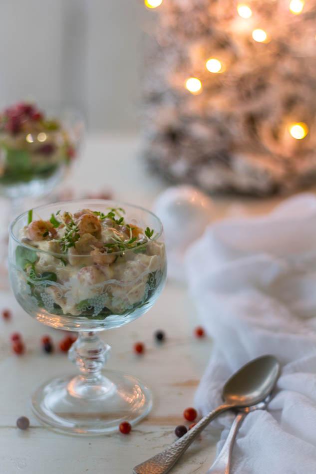 Recept pittge garnalen cocktail