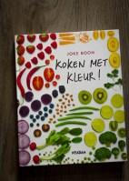 Kookboek Koken met kleur Joke Boon