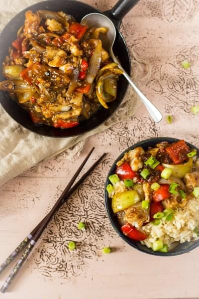 Recept heek in zwarte bonensaus