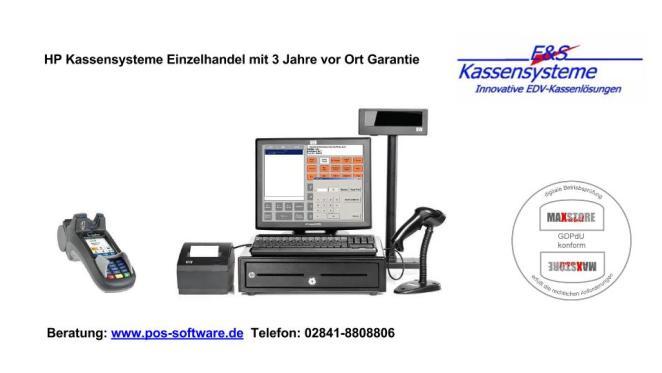 HP Kassensystem mit Kassensoftware Handel
