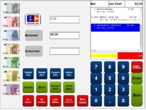 Kassensystem Handel