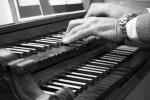 Organ Keyboard Register Hands