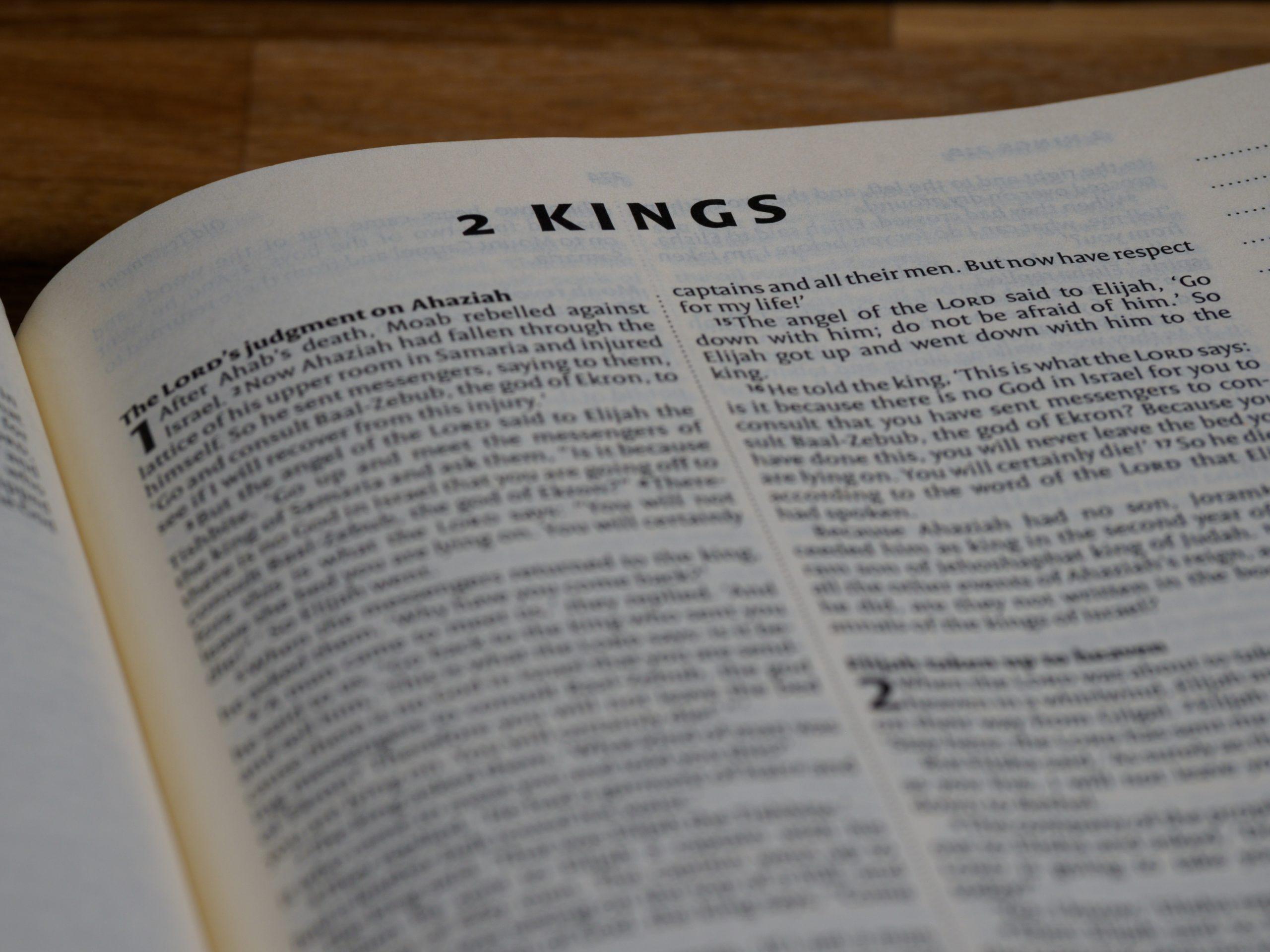 Siete Razones Por Las Que Debes Predicar 1 Y 2 Reyes