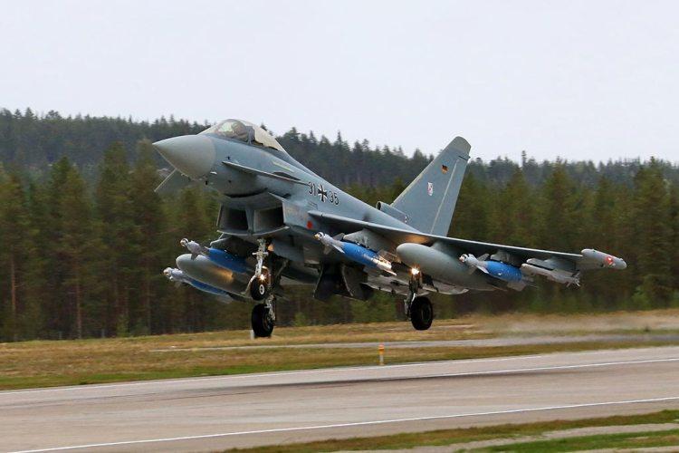 Luftwaffe Eurofighter Typhoons