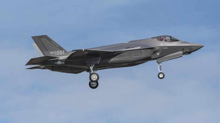 ROKAF Republic of Korea Air Force F35A