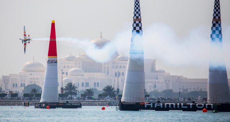 calendario 2018 Red Bull Air Race