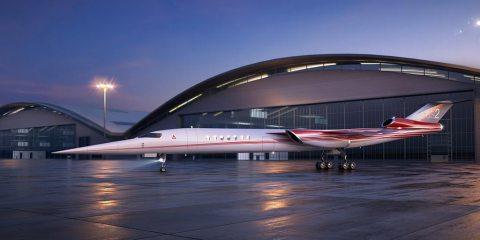 Aerion Lockheed Martin avión comercial supersónico