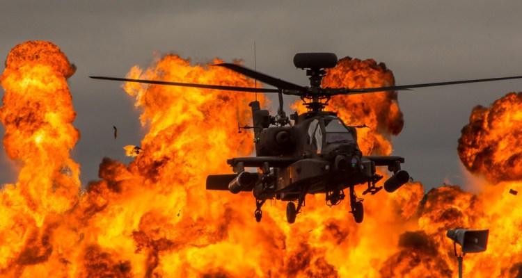 AH-64E Apache helicópteros de combate británicos