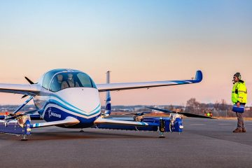 boeing PAV - Autonomous Passenger Air Vehicle