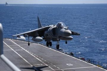 Harrier Armada Naval Italiana