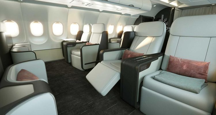 Airbus A321LR Four Seasons