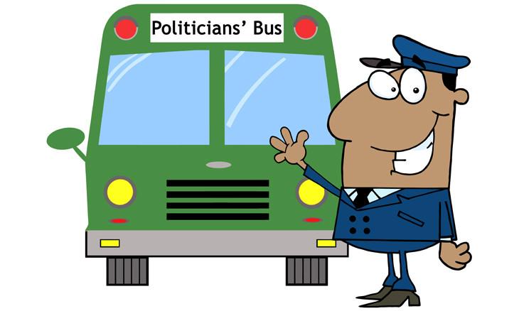 chiste: políticos mentirosos