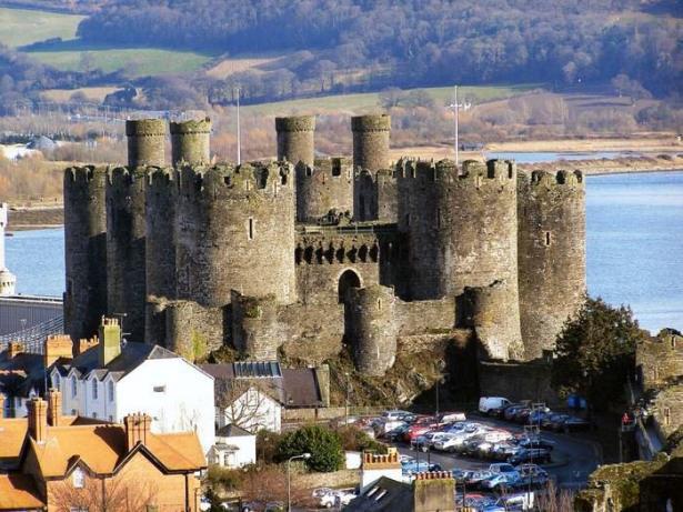 Castillos medievales Castillo de Conwy, Gales, Reino Unido
