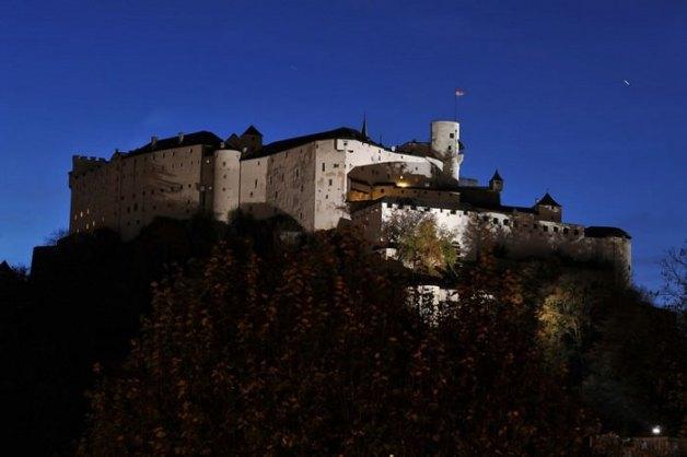 Castillos medievales Castillo de Hohensalzburg, Austria