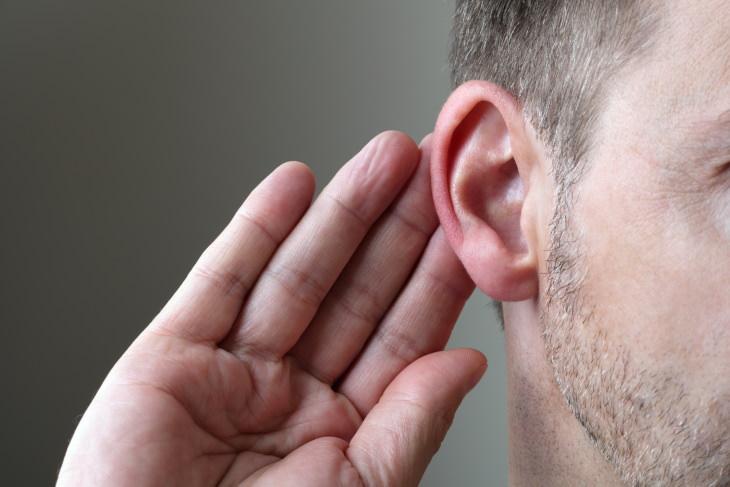3. No puedes escuchar bien los ruidos de tono alto