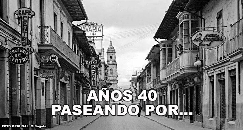 Años 40, paseando por...