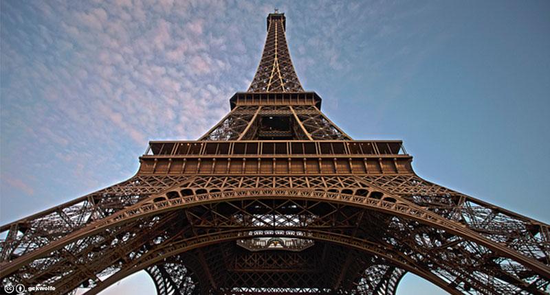 La torre Eiffel está ubicada en...