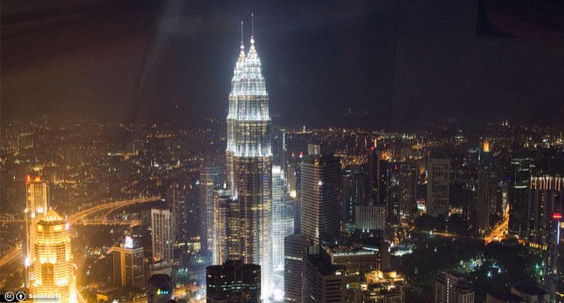 Las Torres Petronas se encuentran en...