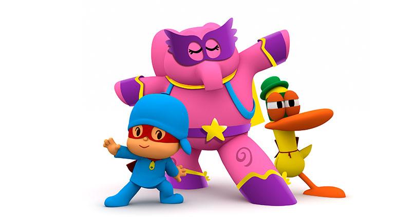 7. ¿Quién es el súper héroe de la serie?