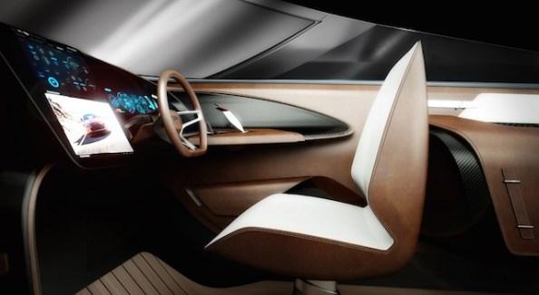 Aston Martin AM37 interior puesto de mando
