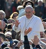 El Papa Francisco apuesta por el contacto directo con peregrinos durante la JMJ