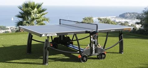 table de ping pong cornilleau 700m crossover sur herbe