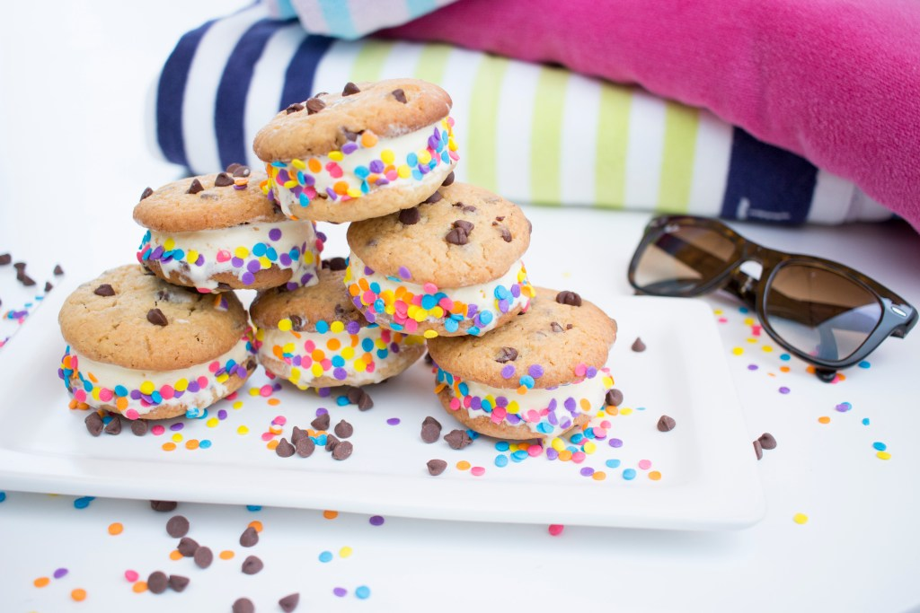 Sandwich de galletas y helado